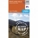 Active Explorer Map 344 Pentland Hills