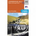 Active Explorer Map 345 Lammermuir Hills