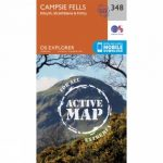 Active Explorer Map 348 Campsie Fells