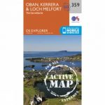 Active Explorer Map 359 Oban, Kerrera and Loch Melfort