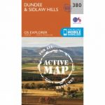 Active Explorer Map 380 Dundee and Sidlaw Hills