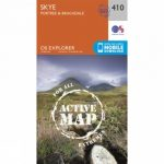 Active Explorer Map 410 Skye – Portree and Bracadale