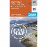 Active Explorer Map 413 Knoydart, Loch Hourn and Loch Duich