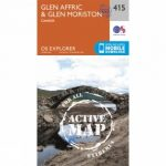 Active Explorer Map 415 Glen Affric and Glen Moriston