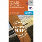Active Explorer Map 416 Inverness, Loch Ness and Culloden