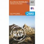 Active Explorer Map 421 Ellon and Inverurie