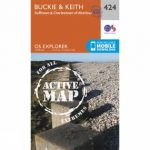 Active Explorer Map 424 Buckie and Keith