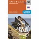 Active Explorer Map 425 Huntly and Cullen