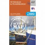 Active Explorer Map 427 Peterhead and Fraserburgh