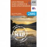 Active Explorer Map 430 Loch Monar, Glen Cannich and Glen Strathfarrar