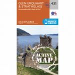 Active Explorer Map 431 Glen Urquhart and Strathglass