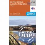 Active Explorer Map 436 Beinn Dearg and Loch Fannich
