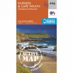 Active Explorer Map 446 Durness and Cape Wrath