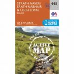 Active Explorer Map 448 Strath Naver and Loch Loyal
