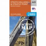 Active Explorer Map 449 Strath Halladale and Strathy Point