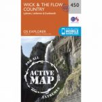 Active Explorer Map 450 Wick and The Flow Country