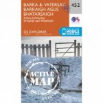 Active Explorer Map 452 Barra and Vatersay