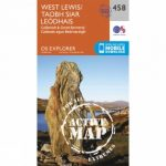 Active Explorer Map 458 West Lewis