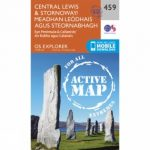 Active Explorer Map 459 Central Lewis and Stornoway