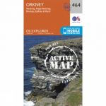 Active Explorer Map 464 Orkney – Westray, Papa Westray, Rousay, Egilsay and Wyre