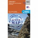 Active Explorer Map 465 Orkney – Sanday, Eday, North Ronaldsay and Stronsay