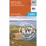 Active Explorer Map 467 Shetland – Mainland Central