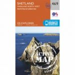 Active Explorer Map 469 Shetland – Mainland North West
