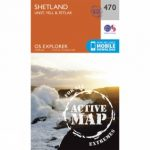Active Explorer Map 470 Shetland – Unst, Yell and Fetlar