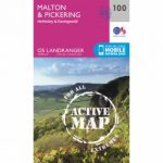 Active Landranger Map 100 Malton and Pickering
