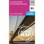 Active Landranger Map 112 Scunthorpe and Gainsborough