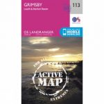 Active Landranger Map 113 Grimsby