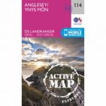 Active Landranger Map 114 Anglesey