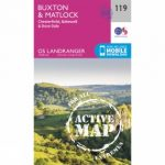Active Landranger Map 119 Buxton and Matlock