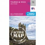 Active Landranger Map 12 Thurso and Wick
