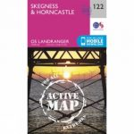 Active Landranger Map 122 Skegness and Horncastle