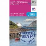 Active Landranger Map 123 Lleyn Peninsula