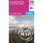 Active Landranger Map 138 Kidderminster and Wyre Forest