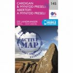 Active Landranger Map 145 Cardigan and Mynydd Preseli