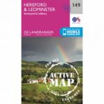 Active Landranger Map 149 Hereford and Leominster