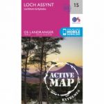 Active Landranger Map 15 Loch Assynt