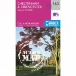 Active Landranger Map 163 Cheltenham and Cirencester