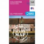Active Landranger Map 168 Colchester