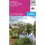 Active Landranger Map 169 Ipswich and The Naze