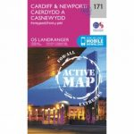Active Landranger Map 171 Cardiff and Newport