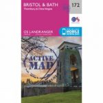 Active Landranger Map 172 Bristol and Bath