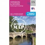 Active Landranger Map 173 Swindon and Devizes