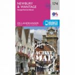 Active Landranger Map 174 Newbury and Wantage
