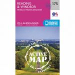 Active Landranger Map 175 Reading and Windsor