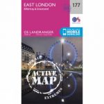 Active Landranger Map 177 London East