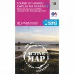 Active Landranger Map 18 Sound of Harris